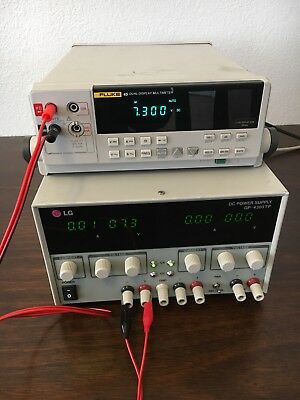 Lg Gp-4303tp Dc Power Supply Precision Laboratory Multi Channel Tested