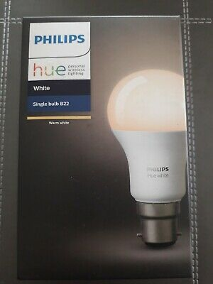 PHILIPS Hue White Bluetooth LED Bulb - B22 - Currys