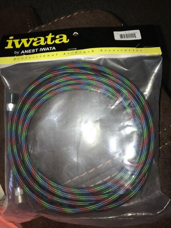 Iwata Airbrushes Braided RG-3 and W-100 Air Hose 10