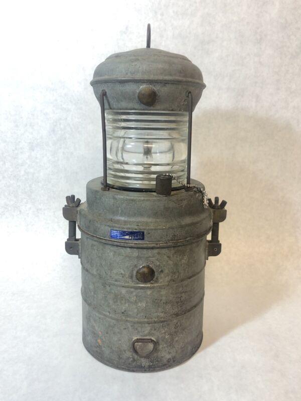 Perkins Marine Lamp Perko Maritime Navy Light Vintage Boat Man Cave Electric
