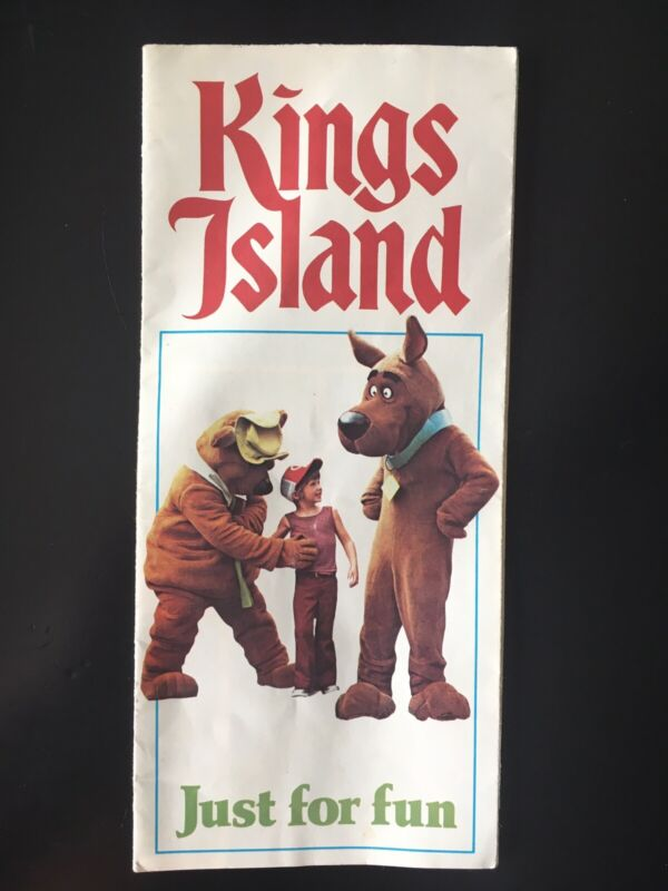 1976 Kings Island Amusement Park Ohio Brochure