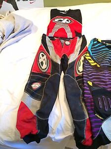 Thor and answer dirt biking clothes for cheap