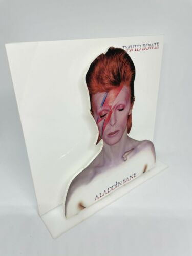"David Bowie Aladdin Sane 3D display 8"" standee vinyl holder (figure, statue)"