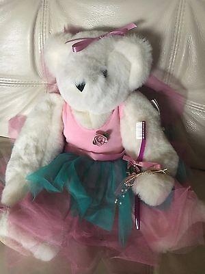 Vermont Teddy Bear Brown Bear Fully Jointed Posable Plush Stuffed Animal Fairy
