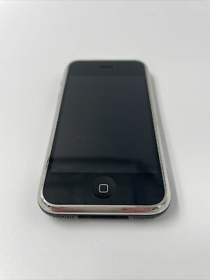 Apple iPhone 1st Generation - 16GB - Black (AT&T) A1203 (GSM) Fair Cond. 1A