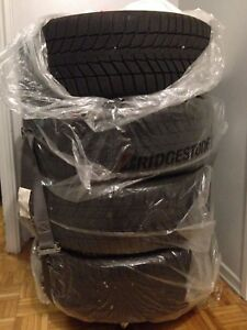 4 winter tires with rims one month used ( contenetal brand ) .