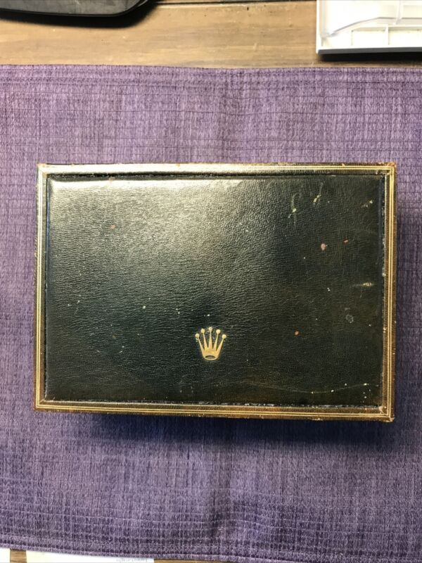 Vintage Rolex 70's leathe 59.00.04 Box . For Daytona Gold 6263;6265;1803. rare❗️