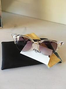 Fendi Iridia Cat Eye Crystal Sunglasses Dalkeith Nedlands Area Preview