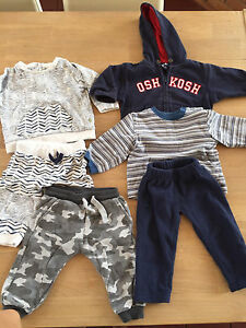 6pcs Boy Set. Suitable for cold weather. Size 1. East Toowoomba Toowoomba City Preview