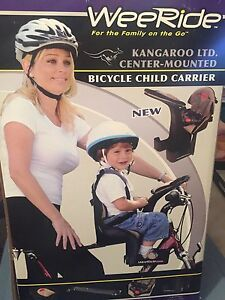 Wee ride bike seat for toddlers