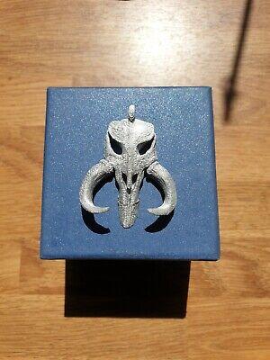 The Mandalorian Mythosaur Skul Star Wars Necklace Pendant 3d print high quality