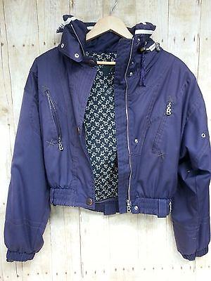 6ee81d27bbf80 Womens vintage Bogner snowsuit purple size 8 Long jacket pants