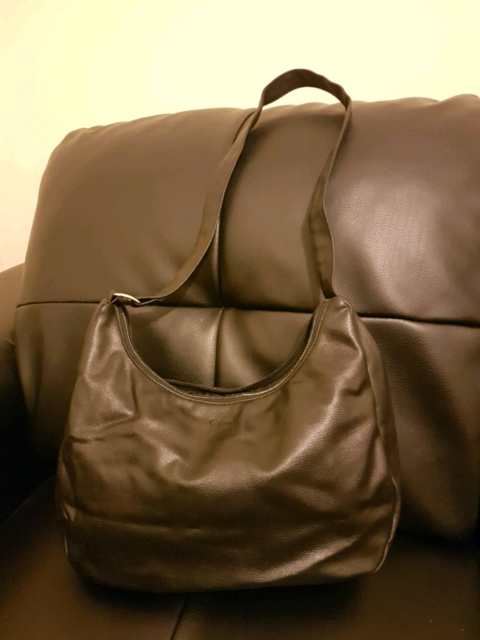 Black Real Leather Capucci Bag Bags Gumtree Australia Port Adelaide Area Ethelton 1193346694