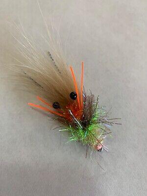 Saltwater Flies Schminnow//Gurgler 1//0  Snook,Tarpon,redfish