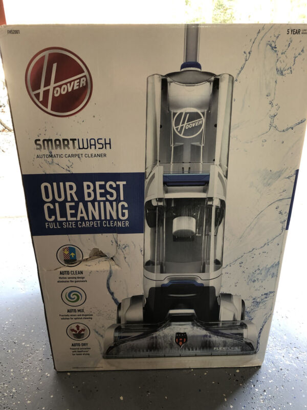 Hoover SmartWash Automatic Carpet Cleaner Model FH52001 - New in Box