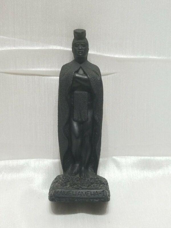 Vintage Made In Hawaii with Lava by Coco Joe (No. 121)- Kamehameha-I figurine!