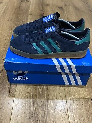 Adidas OG Gazelle Indoorvlue Green Gum UK10 Terracewear Koln Dublin Bern Boxed