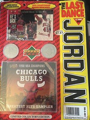 89f3d7c50f9ecf 1998 Michael Jordan Upper Deck limited collectors edition THE LAST DANCE