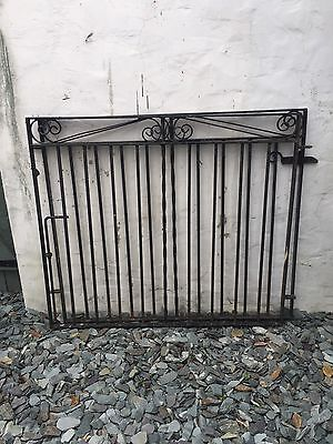 Pair Of ?Cast Iron Driveway Gates - CARDIFF
