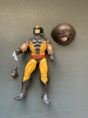 Marvel Legends Hasbro Juggernaut BAF Series Wolverine Action Figure Loose