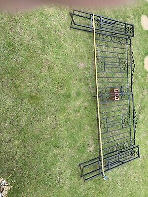 Wrought Iron Drive / Gatden Gates With Balustrades