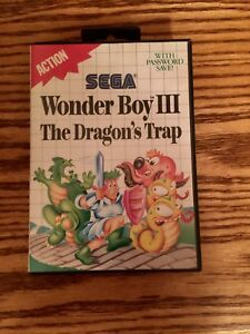 Sega Master System Game Wonder Boy 111  3 Works
