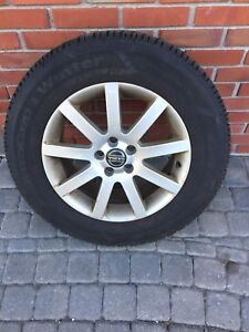 Set of Four Volvo XC 90 rims and winter tires