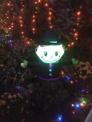 Halloween Inflatable Witch Yard decor