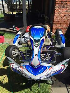 Kart Arrow cadet comer SW-80 engine Albert Park Port Phillip Preview