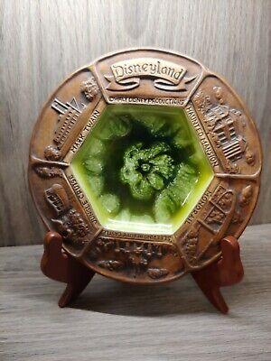 Disneyland Treasure Craft Vintage candy dish green