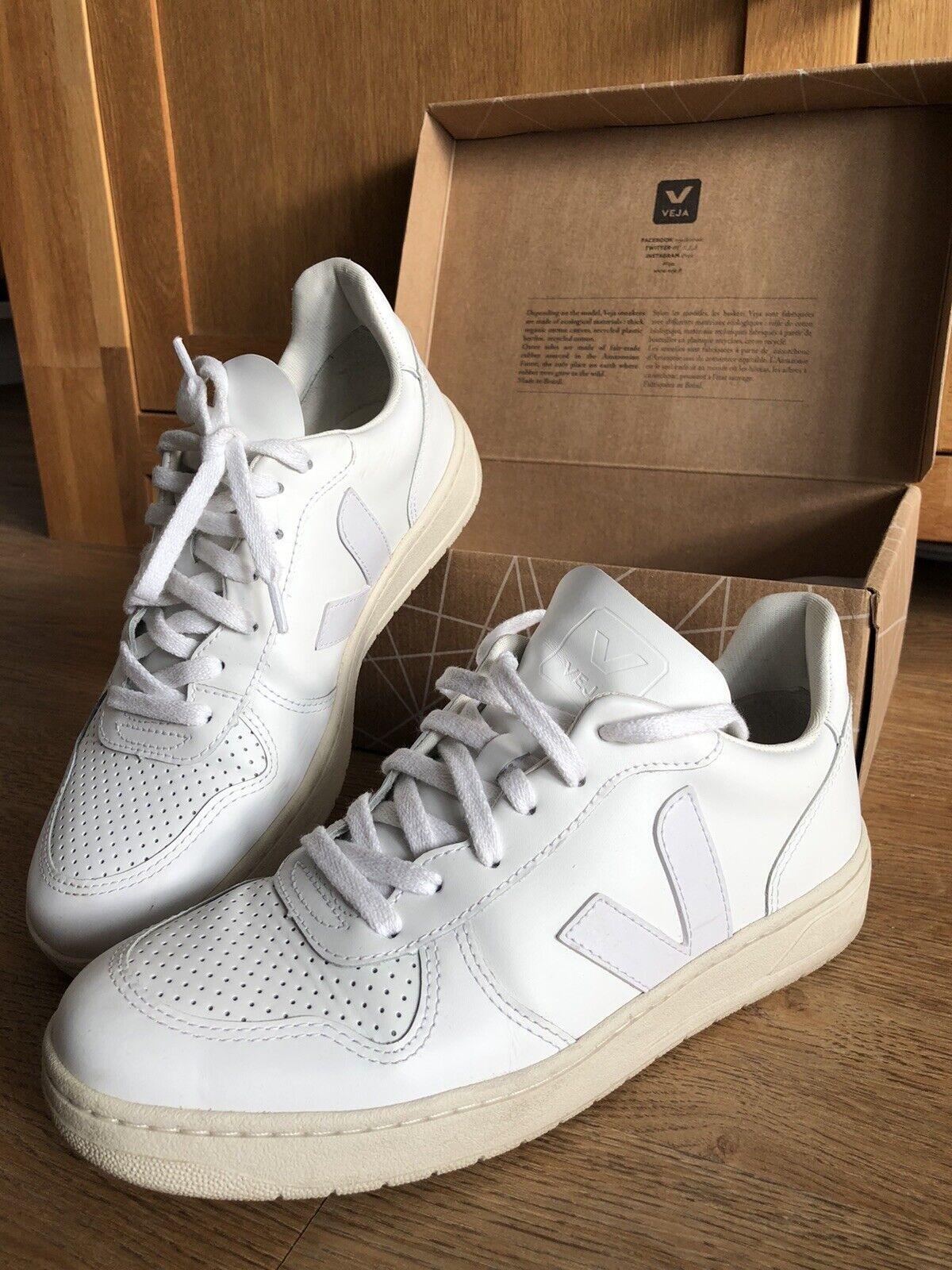 VEJA /  V10 Leather Extra White / EUR 40 / Sneaker / Turnschuhe