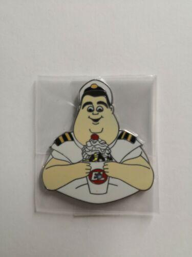 Captain B. McCrea Wall-e RARE Not Missing Enamel PTD DSF DSSH Disney Pin 118523
