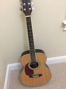 Brand new left hand acoustic guitar