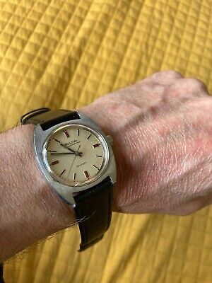 Bulova vintage mens watch