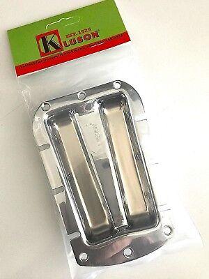 KLUSON KDLSTT-6-C 6 STRING MACHINE TUNER TRAY FOR FENDER CHAMPION CHROME