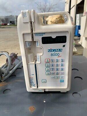 Sigma Products Ltd Sigma 8000 Infusion Pump