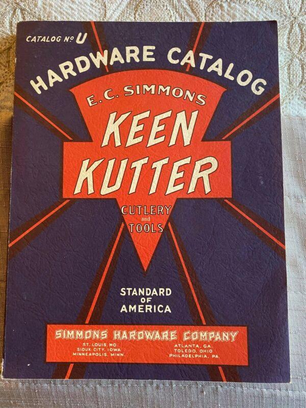 Vtg Out Of Print Keen Kutter Catalog 1984 Reprint 1930