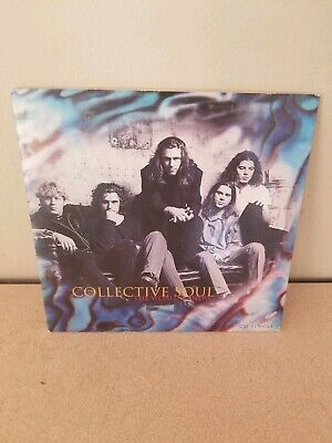 COLLECTIVE SOUL World I know w/ When Water ACOUSTIC Carded Sleeve USA CD single