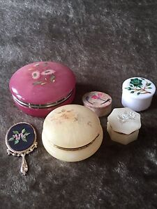 Vintage trinket collection for sale