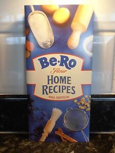 Be-Ro Home Baked Recipe Book 40th Edition Brand New.