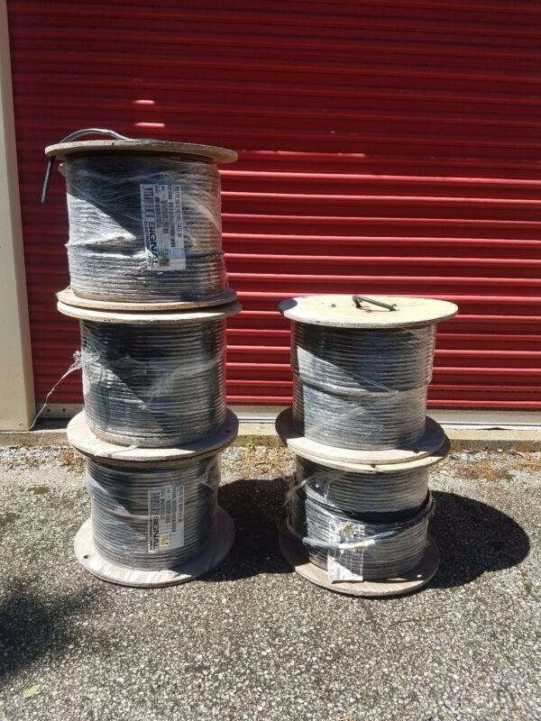 CCI CATV Communications RG-11 Cable Coaxial QUAD SHIELD 9921650608 1000ft coax