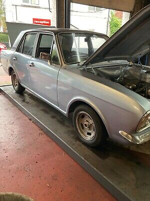 Ford cortina mk2 1600 deluxe 1968 for restoration