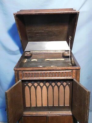 Grammophon Schrank ORCHESTROLA ADLER PHONOGRAPH Automat Münzautomat GEHÄUSE