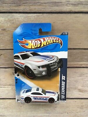 HOT WHEELS 2012 HW CITY WORKS 10 CAMARO SS WHITE  for sale  Shipping to Canada