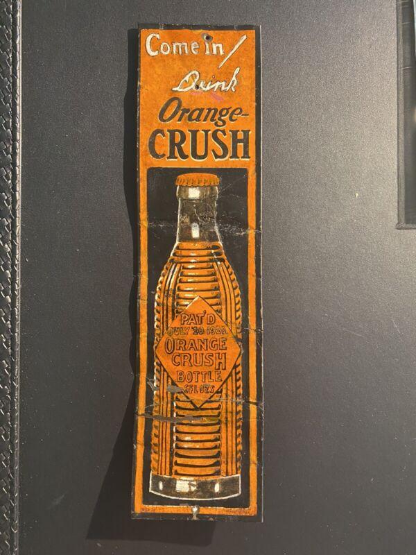 1926 Orange Crush Door Push