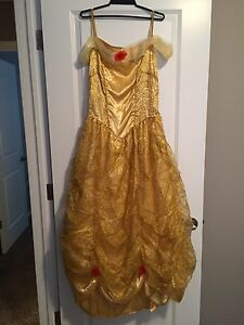 Belle beauty and the beast dress medium