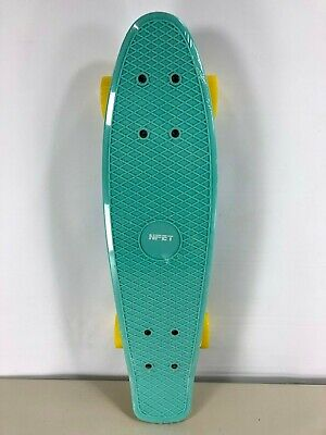 Complete 22 Inches Skateboard Ultra Durable Deck, Max Load 200lb ABEC 7 - Mint