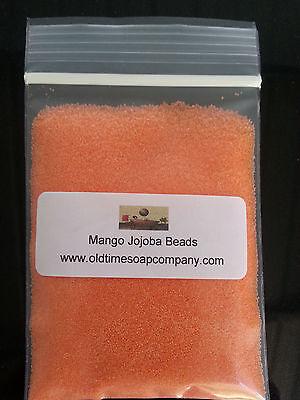 Jojoba Spheres Beads 1/2 oz Mango Soaps Scrubs