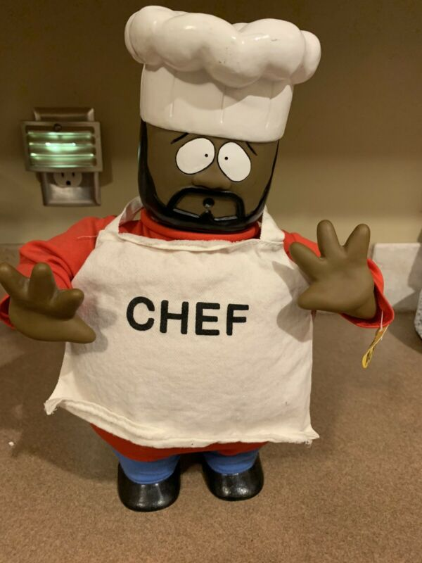 SOUTH PARK SINGING DANCING CHEF DOLL - ISAAC HAYES - COMEDY CENTRAL