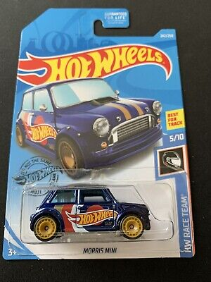 2019 HOT WHEELS MORRIS MINI SUPER TREASURE HUNT ERROR W/PROTECTOR